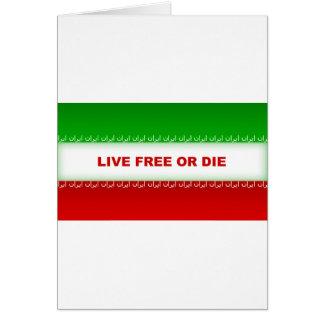 Live Free or Die Card