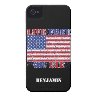 Live Free or Die Case-Mate iPhone 4 Cases