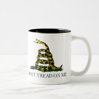 Live Free or Die - Gadsden Flag Dont Tread on Me Coffee Mug