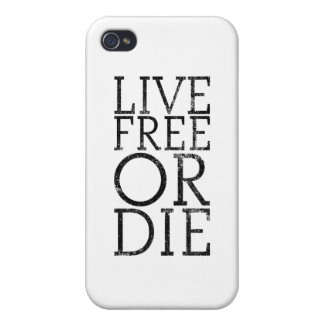 Live Free or Die iPhone 4/4S Covers
