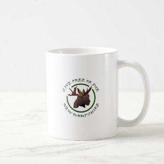 Live Free Or Die New Hampshire Classic White Coffee Mug