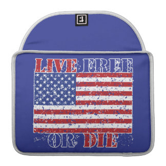 Live Free or Die Sleeve For MacBook Pro