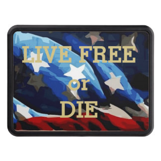Live Free or Die Trailer Hitch Cover