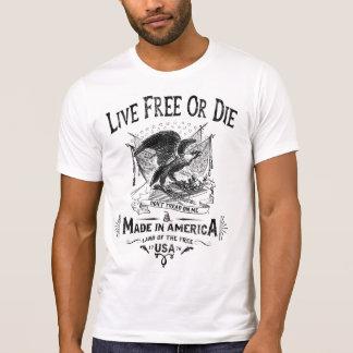 Live Free or Die Tshirts