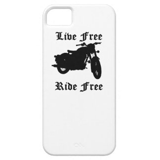 Live Free Ride Free Motorcycle iPhone 5 Case