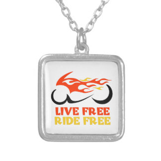 LIVE FREE RIDE FREE NECKLACES