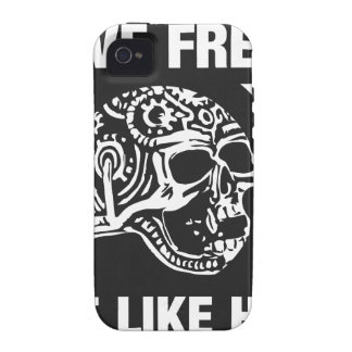 Live free ride like hell vibe iPhone 4 covers