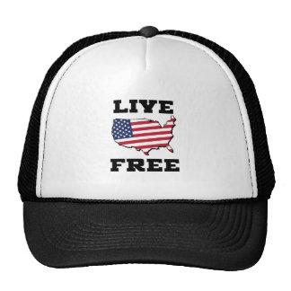 Live Free Trucker Hat