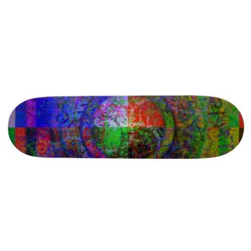 Live Freely - Skateboard