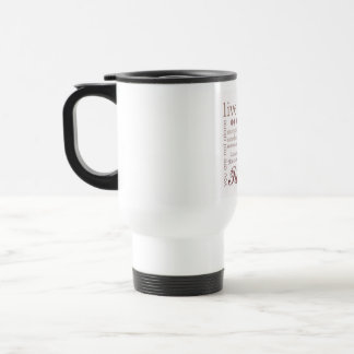 Live Freely Travel Mug