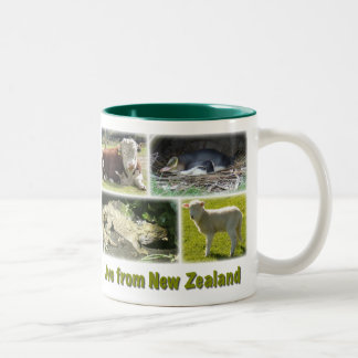 Live from New Zealand Two-Tone Coffee Mug