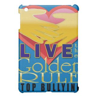 live golden rule stop bullying iPad mini covers