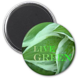 Live Green 2 Magnet