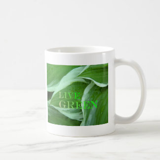 Live Green 2 Mug