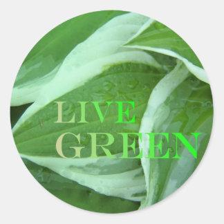 Live Green 2 Sticker