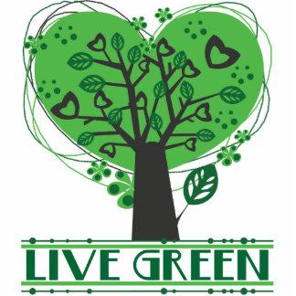 Live Green Acrylic Pin Cutout