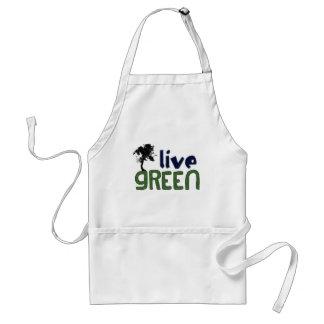 LIVE GREEN ADULT APRON