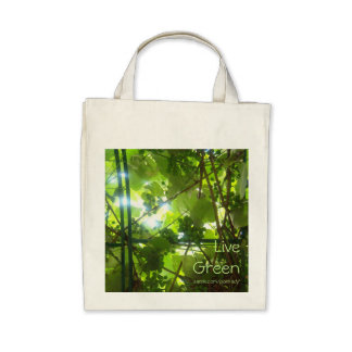 Live Green Bag
