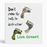 Live Green! binder