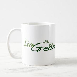 Live Green Coffee Mug
