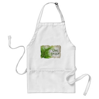 LIVE GREEN Eco Enviro Gift Items for Earth Day Adult Apron