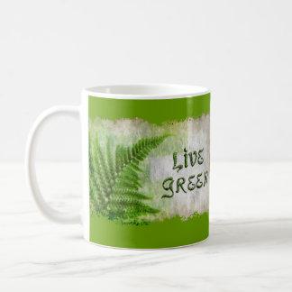 LIVE GREEN Eco Enviro Gift Items for Earth Day Mug