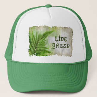 LIVE GREEN Eco Enviro Gift Items for Earth Day Trucker Hat