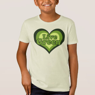 Live Green for Eath Day T-Shirt