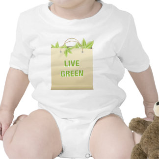 Live Green Green Life Style Saves Money T Shirts