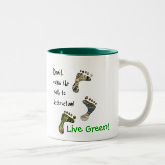 Live Green! mug