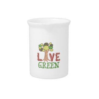 LIVE GREEN PITCHER