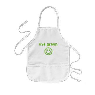 Live Green Pro Environment Eco Friendly Renewable Kids' Apron