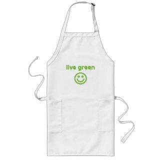 Live Green Pro Environment Eco Friendly Renewable Long Apron