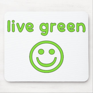 Live Green Pro Environment Eco Friendly Renewable Mouse Pad