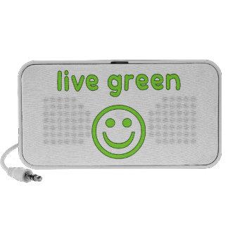 Live Green Pro Environment Eco Friendly Renewable Mp3 Speakers