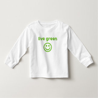 Live Green Pro Environment Eco Friendly Renewable Toddler T-shirt