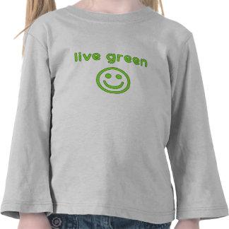 Live Green Pro Environment Eco Friendly Renewable T-shirt
