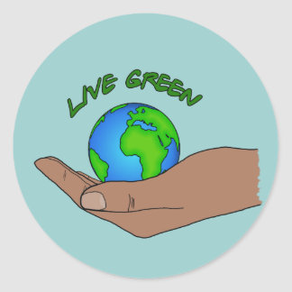 live green stickers