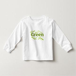 live green toddler t-shirt