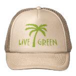 Live Green Tree Hugger Mesh Hats