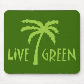 Live Green Tree Hugger Mouse Pad