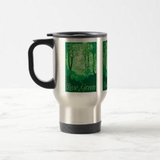 Live Green - Tree Hugger Travel Mug