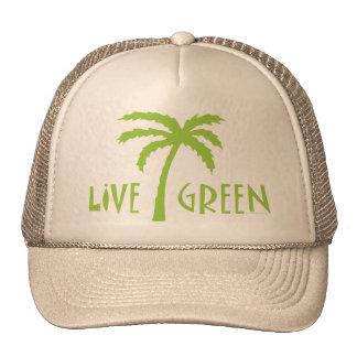 Live Green Tree Hugger Trucker Hat
