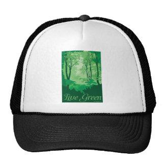 Live Green - Tree Hugger Trucker Hat