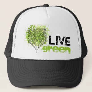 Live Green Trucker Hat
