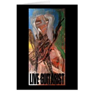 LIVE GUITARIST CARD