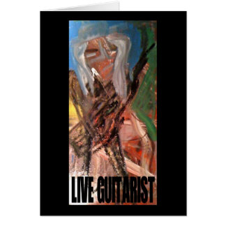 LIVE GUITARIST CARDS