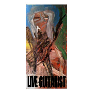 LIVE GUITARIST POSTERS