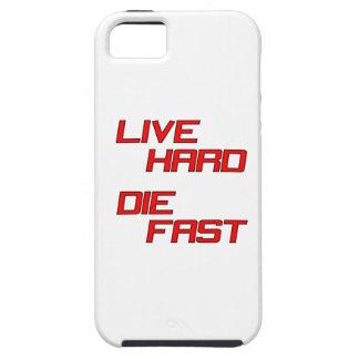 Live Hard Die Fast iPhone SE/5/5s Case