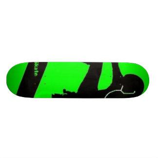 Live Hard, Skate Harder.. Skateboard Deck